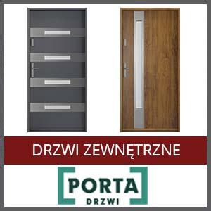 drzwi zewnetrzne porta